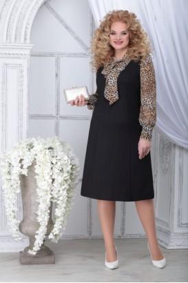 Платье Ninele 2281 леопард